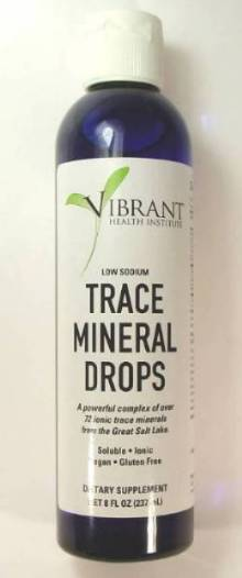 VHI Trace Mineral Supplement Liquid Drops 8.0 Ounce Bottle - 96 Serving