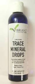 VHI Trace Mineral Supplement Liquid Drops 8.0 Ounce Bottle - 96 Serving THUMBNAIL