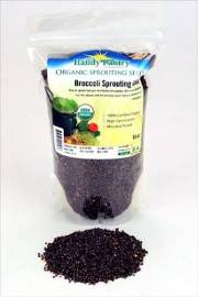Seed - 8 oz Organic Broccoli Sprouting
