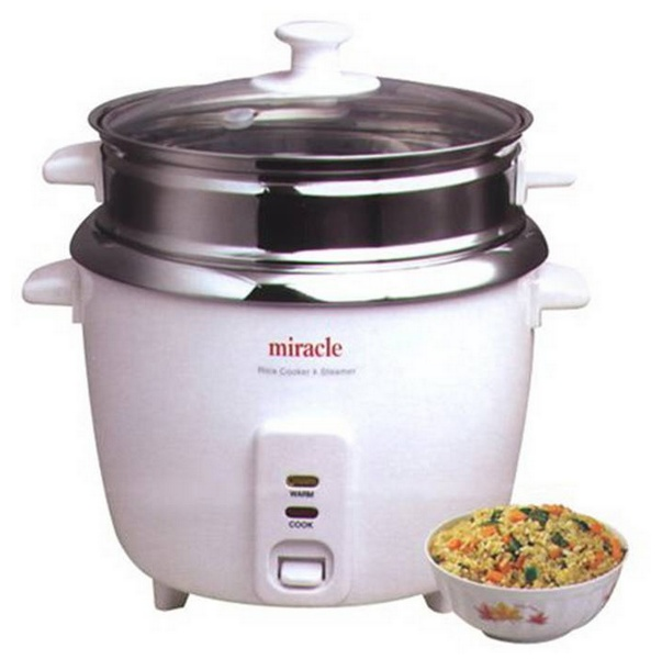 Miracle ME81 Stainless Steel Rice Cooker THUMBNAIL