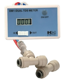 HM Digital DM-1 Dual Inline TDS Monitor