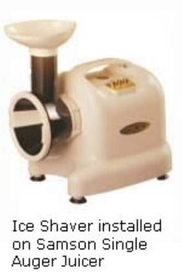 Samson Ice Shaver & Vegetable Slicer MAIN