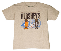 Hersheypark Little Bit of Hershey's Youth T-Shirt LARGE