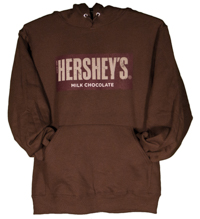 Hershey's Brand Hooded Sweatshirt LARGE