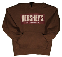 Hershey's Brand Youth Hooded Sweatshirt LARGE