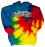HERSHEY  Youth Hooded Sweatshirt Tye Dye THUMBNAIL