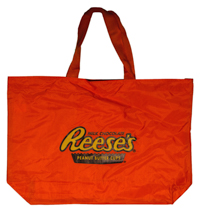 Reese's Brand Tote Bag, Orange LARGE