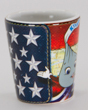 Hersheypark Character Americana Shot Glass 1.5oz SWATCH