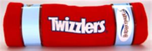 Twizzler Brand Throw Blanket LARGE