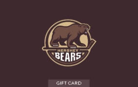 Hershey BEARS Gift Card LARGE