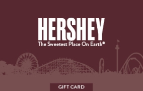 Hershey Entertainment & Resorts Gift Card LARGE