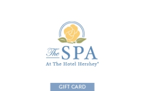 The Spa At The Hotel Hershey Gift Card LARGE