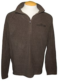 Chocolatetown 1/4 Zip Fleece Adult Sweatshirt LARGE