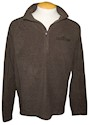 Chocolatetown 1/4 Zip Fleece Adult Sweatshirt THUMBNAIL