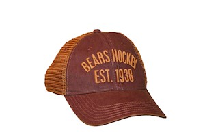 Hershey Bears Old Favorite Copper Mesh Trucker Hat LARGE