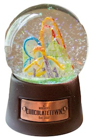 Chocolatetown Emblem Snowglobe LARGE