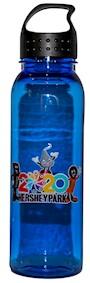 Hersheypark 2020 Blue Water Bottle LARGE