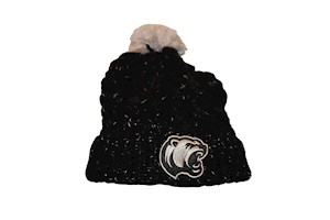 Hershey Bears Fiona Pom Cuff Womens Knit Hat LARGE