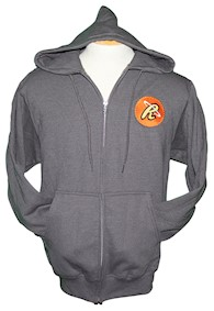 Cupfusion Agent Logo Full Zip Hooded Adult Sweatshirt LARGE