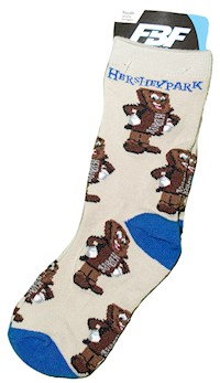 Hersheypark Bar Character Youth Socks LARGE