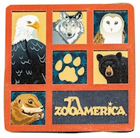 Zoo Cubes Magnet LARGE