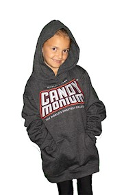 Candymonium Embroidered Logo Hooded Youth Sweatshirt LARGE
