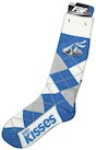 Kisses Brand Argyle Adult Socks THUMBNAIL