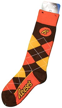 Reese Brand Argyle Adult Socks LARGE