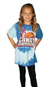 Candymonium Tie-Dye Youth T-Shirt LARGE