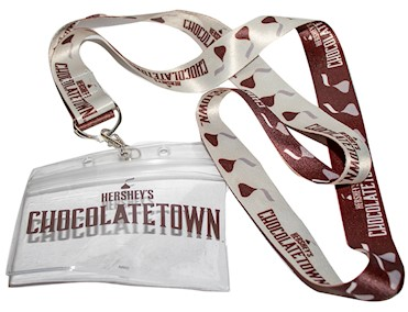 Chocolatetown Reversible Lanyard LARGE