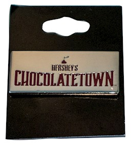 Chocolatetown Pin LARGE