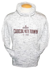 Chocolatetown Women's Funnel Neck Adult Sweatshirt LARGE