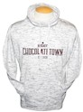 Chocolatetown Women's Funnel Neck Adult Sweatshirt THUMBNAIL