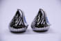 Ceramic Hershey's Kiss Shaped Salt & Pepper Shakers THUMBNAIL