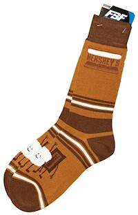 S'Mores Brand Stripealicious Adult Socks LARGE