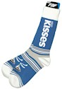 Kisses Brand Stripealicious Adult Socks THUMBNAIL