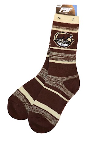 Hershey Bears RMC Stripe Socks LARGE