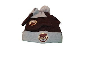 Hershey Bears Infant/Toddler Knit Bam Bam Set LARGE