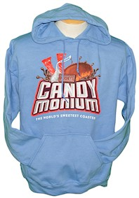 Candymonium Hooded Adult Sweatshirt LARGE