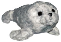Mini Flopsie Harbor Seal Plush LARGE