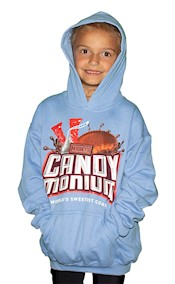 Candymonium Hooded Youth Sweatshirt LARGE