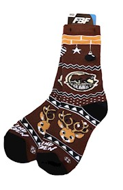 Hershey Bears Holiday Cheer Socks THUMBNAIL