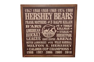 Hershey Bears Vintage Bar Sign LARGE