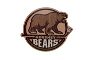 Hershey Bears Primary Logo Cutout Bar Sign THUMBNAIL