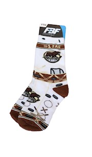 Hershey Bears Youth Super Fan Socks THUMBNAIL