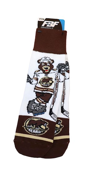 Hershey Bears Youth Coco Socks LARGE