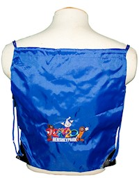 Hersheypark 2020 Royal Blue Drawstring Bag LARGE
