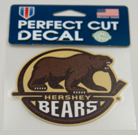 Hershey Bears Primary Logo Decal LARGE