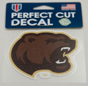 Hershey Bears Bear Head Decal THUMBNAIL