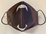 Hershey Bears Open Mouth Face Mask THUMBNAIL